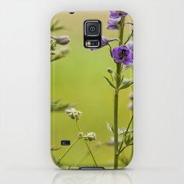 Purple Delphinium Flower iPhone Case