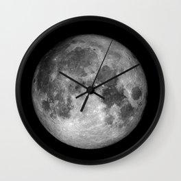 Moon Full Wall Clock