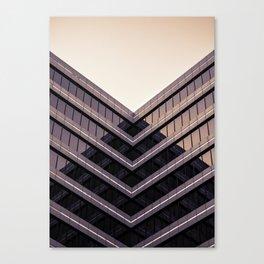 Bending Houz Canvas Print
