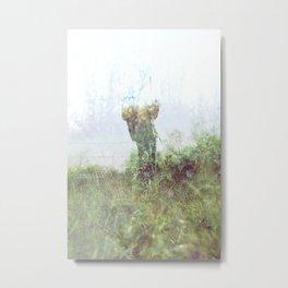 Grass Ghost Metal Print