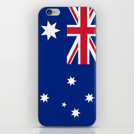 The National flag of Australia, authentic version (color & scale 1:2) iPhone Skin