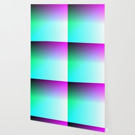 Six Color Ombre Cyan, Purple, Green, Pink, Purple, Blue, Spectrum Flame Wallpaper