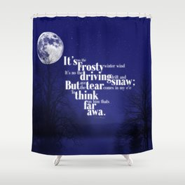 Far awa Shower Curtain