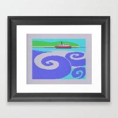 At Sea Framed Art Print
