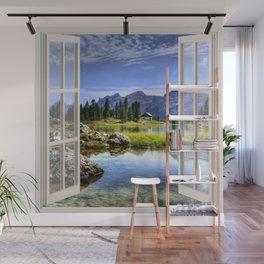 Beautiful Lake | OPEN WINDOW ART Wall Mural