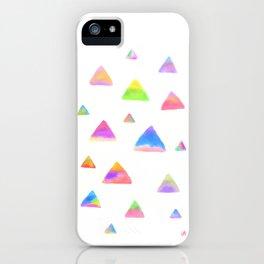 Triangle Triangle Triangle iPhone Case