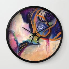Lace & Spiral Wall Clock