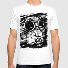 Speed Of Life II. SMALL Mens Fitted Tee White