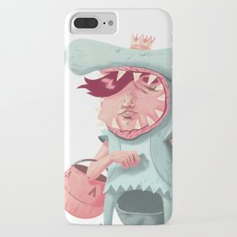 Shark Kid iPhone Case