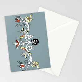 The Blue Design Stationery Cards