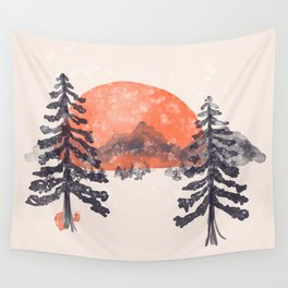 First Snow... Wall Tapestry
