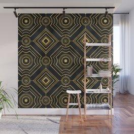 Art Deco Glamorous Sophisticated Geometric Pattern Wall Mural