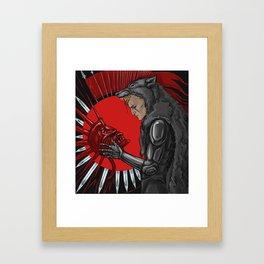 legacy (red) Framed Art Print