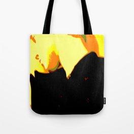 Ghost Of Elvis Tote Bag