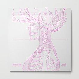 Sketch-Electro-A Metal Print