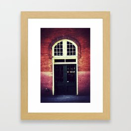 Deliveries Framed Art Print