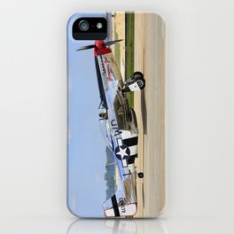 P-51D  Mustang NL751RB 413903 Andrews Air Force Base Washington iPhone Case
