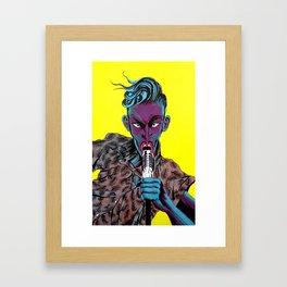Rock'n Roll Framed Art Print