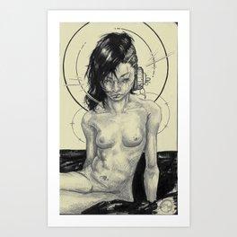 One Side Art Print