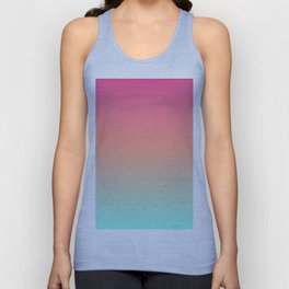 Sunset Bleach Unisex Tank Top