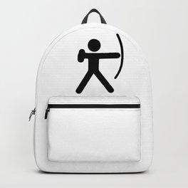 Stickfigure Archer Backpack