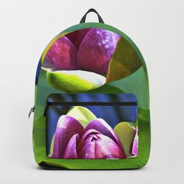 Summery Ode to the WATER LILY Backpack