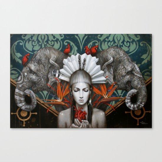 Urantia Canvas Print