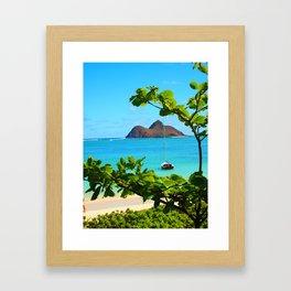 Moka Lua Framed Art Print