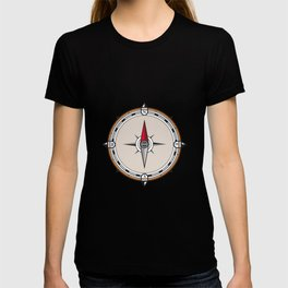Vintage Compass Icon T-shirt