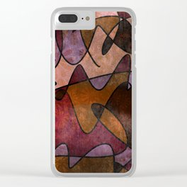 """""""Everyday Remnants"""" Abstract, Alt 5 Clear iPhone Case"""