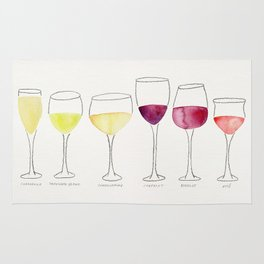 Wine Collection Rug