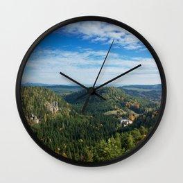 View from Střmen Wall Clock