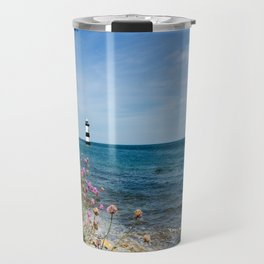 Lighthouse at Penmon Travel Mug