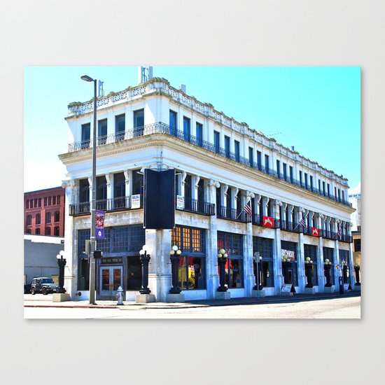 Big Whiskey Saloon Canvas Print