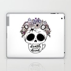 Death Before Decaf Laptop & iPad Skin