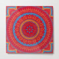 Hippie mandala 59 Metal Print