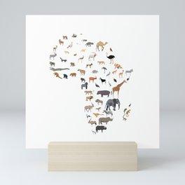 Wild Africa Mini Art Print