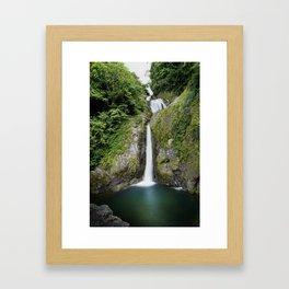 Doña Juana Falls Framed Art Print