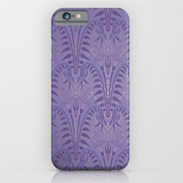 Art Deco Haunted Entryway Wallpaper at the Mansion in some Kingdom iPhone Case