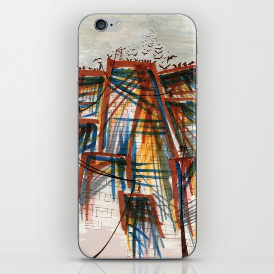 The City pt. 5 iPhone & iPod Skin