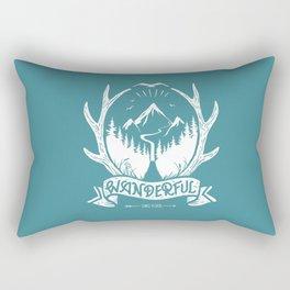 wanderful! Rectangular Pillow