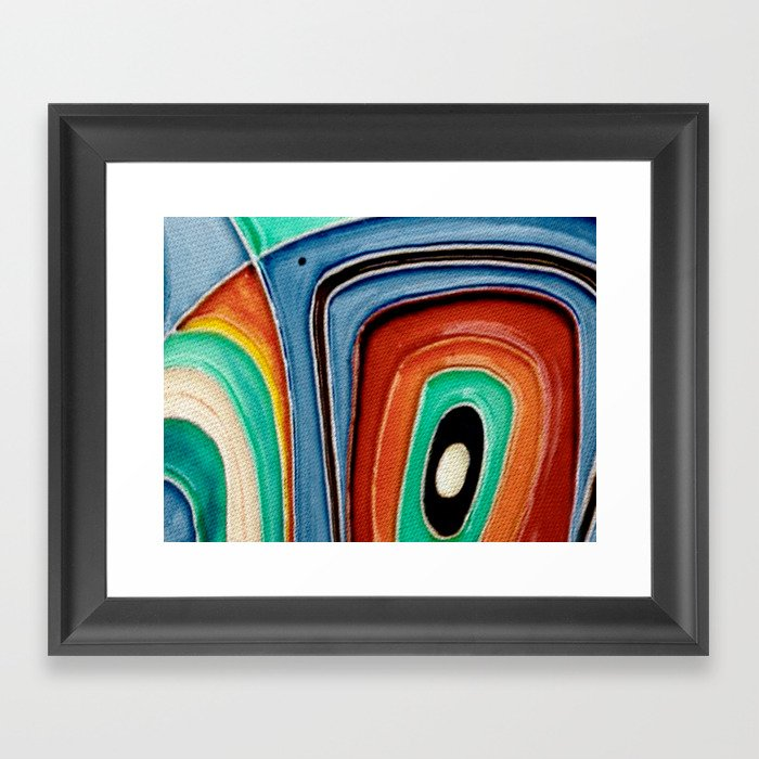 The Kandinsky's Chubby Bird 1 Framed Art Print