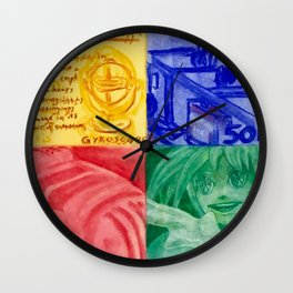 Perpetual Motion Wall Clock