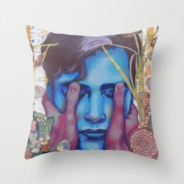 See More With Your Eyes Closed Throw Pillow