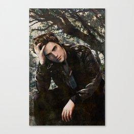Robert Pattinson FAME comic book cover - Twilight Canvas Print