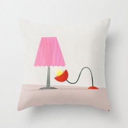 A bit of skirt Throw Pillow