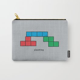 Planking Carry-All Pouch