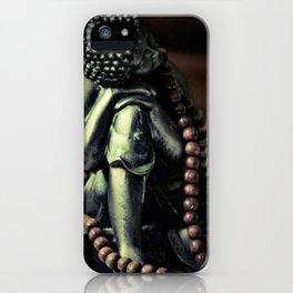 Beaded buddha iPhone Case