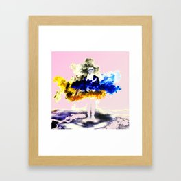 Boom Color Framed Art Print