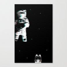 Spaced Dreams (Moon Traveler) Canvas Print